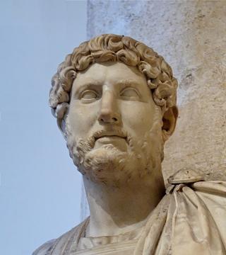 Büste Hadrians im Kapitolinischen Museum