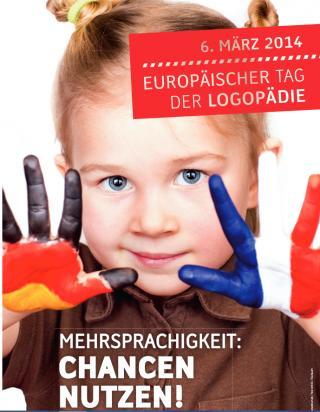 Plakat Europäischer Tag der Logopädie