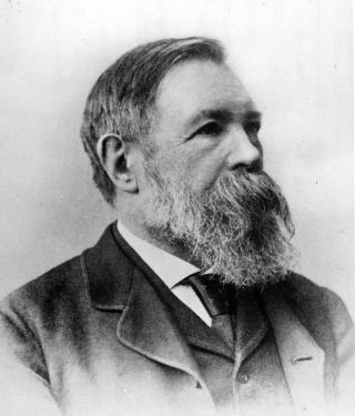 Friedrich Engels, 1891 in London
