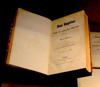 """Erstausgabe von Karl Marx """"Das Kapital"""""""