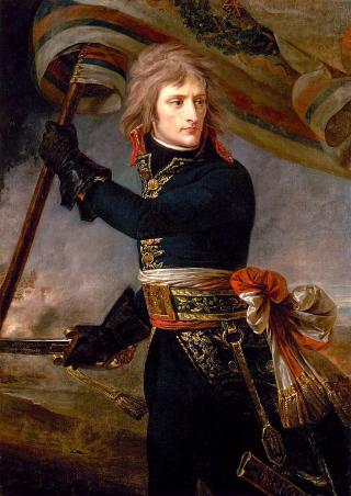 Napoleon auf der Brücke von Arcole, Antoine-Jean Gros, 1801