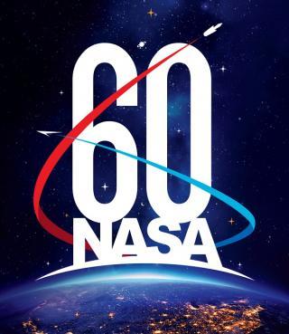 NASA-Logo zum 60ten Geburtstag