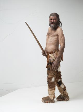 Rekonstruktion des Mannes aus dem Eis