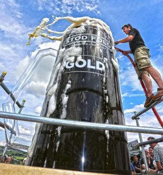 Größtes Bierglas der Welt