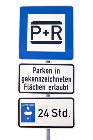 Park+Ride-Schild
