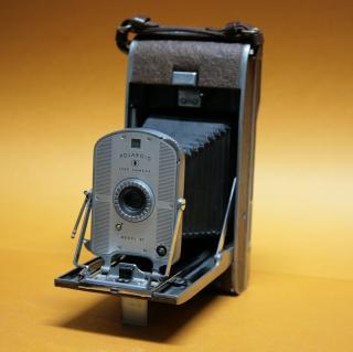 Sofortbildkamera Polaroid Land Kamera Modell 95