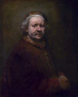 Selbstbildnis im Alter von 63 Jahren, Rembrandt (1669)