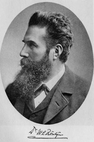 Portrait von Wilhelm Conrad Röntgen aus dem Jahr 1901.
