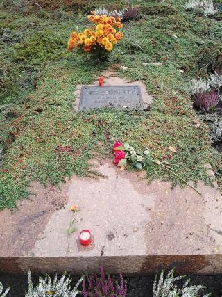 Grab Rosa Luxemburgs auf dem Zentralfriedhof Friedrichsfelde in Berlin