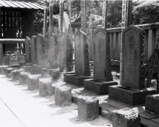 Gräber der 47 Ronin im Tempel Sengaku-ji