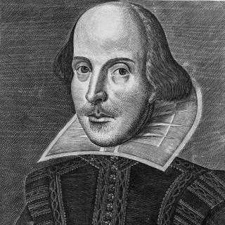 Porträtstich William Shakespeares (1594-1616)