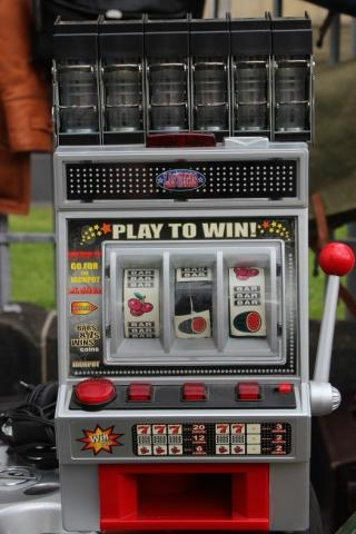 Altmodische Slotmaschine