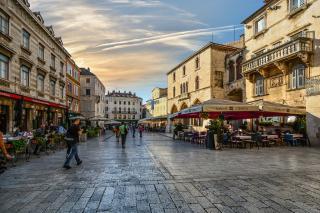 Fußgängerzone einer italienischen Stadt