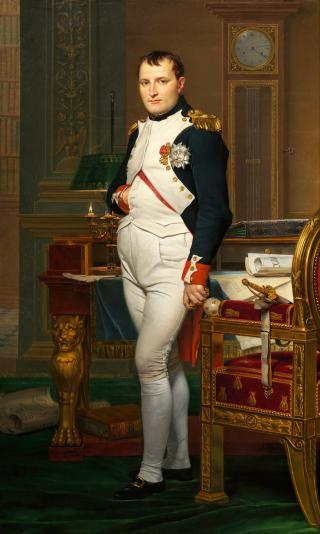 Napoleon-Portrait von Jacques-Louis David (1812)