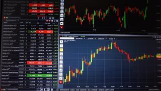 Kurstafel an der Börse