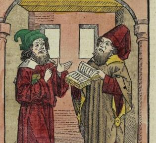 Illustration aus dem Seelenwurzgarten. Ulm, 1483