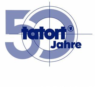 TATORT feiert Jubiläum - TATORT 50 JAHRE - LOGO