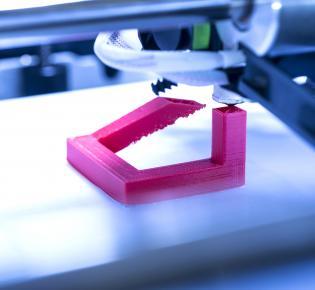 3D-Drucker in Aktion