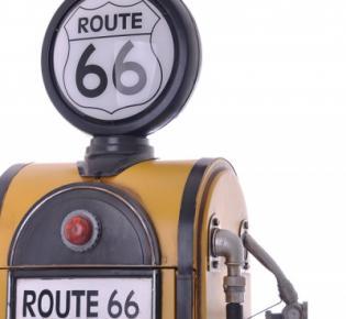 Tanksäule Route 66