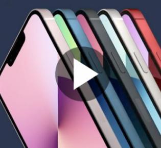 Smartphones vom Typ iPhone 13