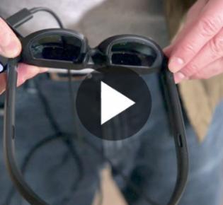 Symbolbild Augmented-Reality-Brille