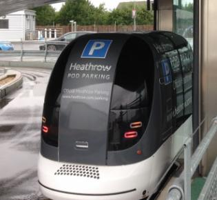 Heathrow T5 pod
