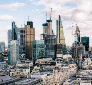 Skyline der City of London