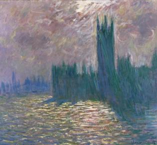 Claude Monet: Houses of Parliament, London