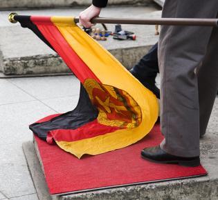 Die Fahne der DDR