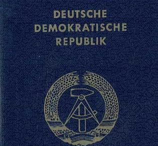 DDR-Reisepass