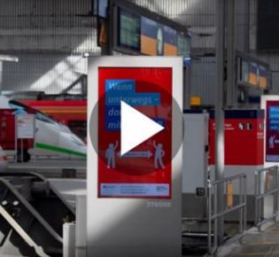 Symbolbild Deutsche Bahn zu Corona-Zeite