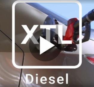 Spritsymbol für synthetischen Diesel