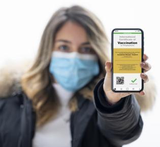 Symbolbild digitaler Impfpass