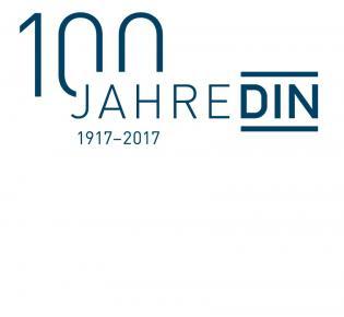 Logo für das DIN-Jubiläum