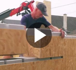Hausbau nach dem Baukastensystem