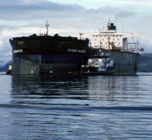 Havarierte Exxon Valdez