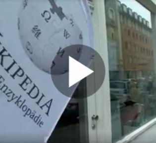 Eingang des Wikipediabüros in München