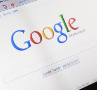 Deutschsprachige Google-Startseite