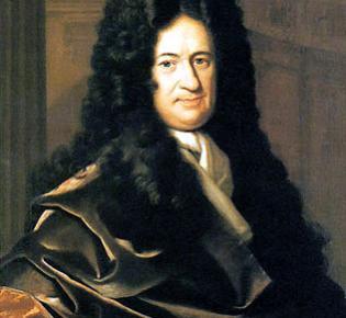 Gottfried Wilhelm Leibniz, Porträt von Christoph Bernhard Francke, um 1700