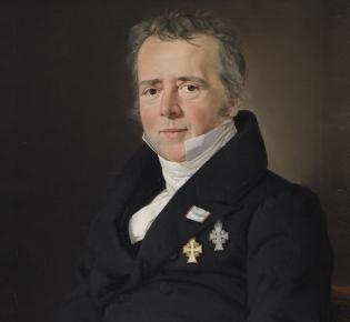 Hans Christian Ørsted,  zw 1831-32, von C.A. Jensen