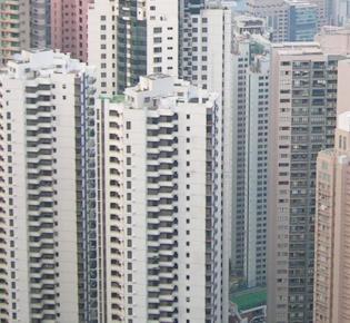 Apartmenthäuser in Hongkong