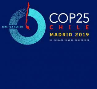 Logo der UN-Klimakonferenz 2019