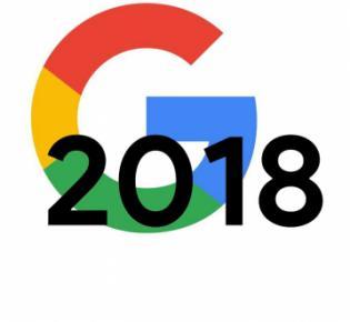 Google-G plus Jahreszahl 2018