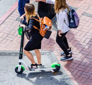 E-Scooter in San Diego