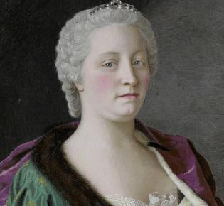Porträt Maria Theresias (Jean-Étienne Liotard, 1747)