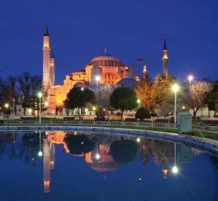 Hagia Sophia bei Nacht - Istanbul