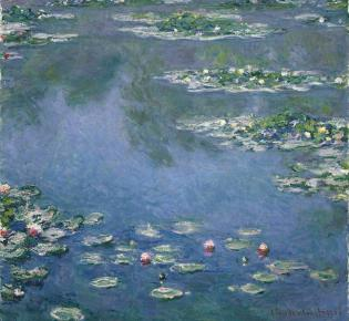 Claude Monet: Seerosen, 1906