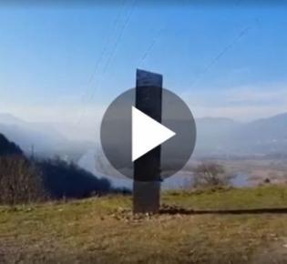 Geheimnisvoller Monolith in Rumänien