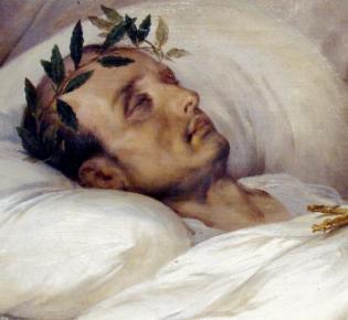Napoleon auf dem Totenbett, Horace Vernet, 1826