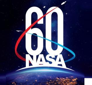 NASA-Logo zum 60. Geburtstag